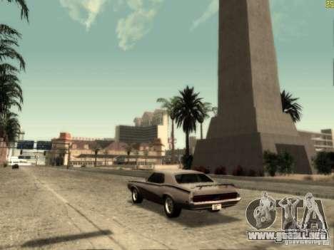 ENBSeries v 2.0 para GTA San Andreas sucesivamente de pantalla