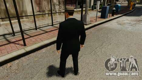 Cole Phelps para GTA 4 tercera pantalla