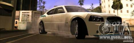 Dodge Charger R/T Daytona para la visión correcta GTA San Andreas