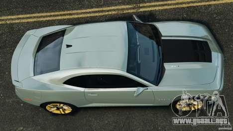 Chevrolet Camaro ZL1 2012 v1.2 para GTA 4 visión correcta