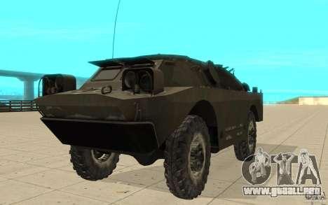 9 k 31 invierno Strela-1 para GTA San Andreas