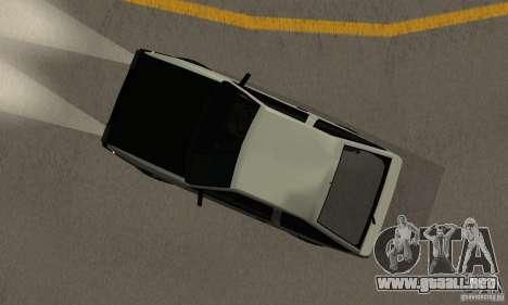 Toyota Sprinter Trueno GT-APEX AE86 83 Initial D para GTA San Andreas vista hacia atrás
