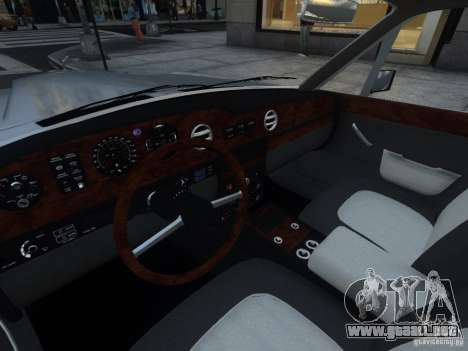 Rolls-Royce Silver Spirit 1990 para GTA 4 vista superior