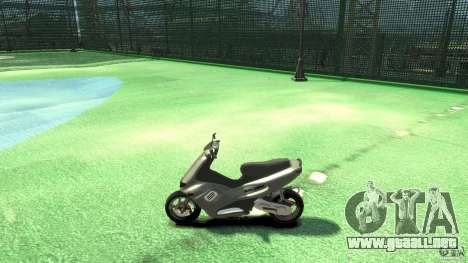 Gilera runner 50 SP With livery2 para GTA 4 left