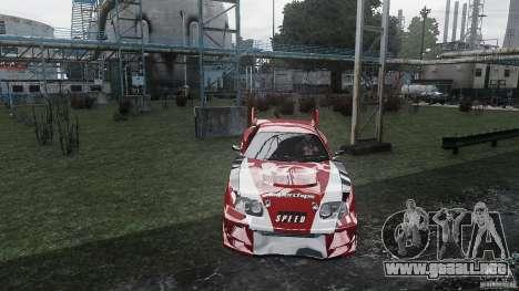 Toyota Supra Apexi Race System para GTA 4 visión correcta