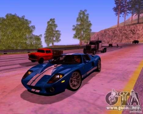 ENBSeries by DeEn WiN v2.1 SA-MP para GTA San Andreas sucesivamente de pantalla