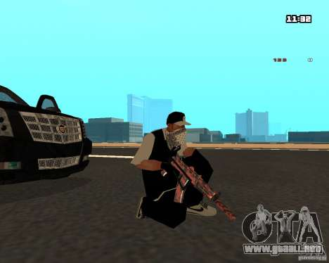 Weapon Pack para GTA San Andreas sexta pantalla