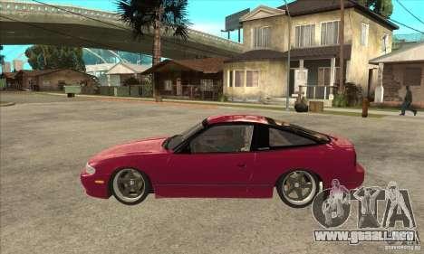 Nissan 240SX Zenki para GTA San Andreas left