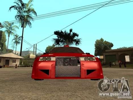 Diablo rojo VAZ-2112 para la visión correcta GTA San Andreas