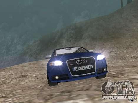 Audi S6 para la visión correcta GTA San Andreas