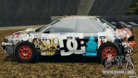 Subaru Impreza WRX STI 1995 Rally version para GTA 4 left