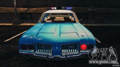 Oldsmobile Vista Cruiser 1972 Police v1.0 [ELS] para GTA motor 4