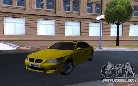 BMW M5 Gold Edition para GTA San Andreas