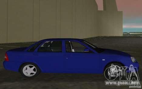 Lada 2170 Priora para GTA Vice City visión correcta