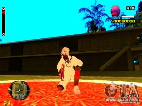 Piel vago v9 para GTA San Andreas segunda pantalla