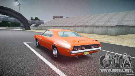 Mercury Cyclone Spoiler 1970 para GTA 4 vista lateral