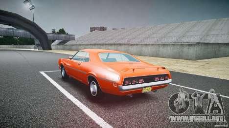 Mercury Cyclone Spoiler 1970 para GTA 4 vista lateral