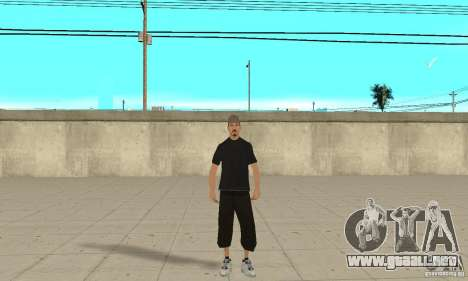 David Blane Skin para GTA San Andreas segunda pantalla