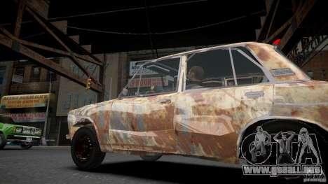 Rusty 2106 VAZ para GTA 4 left