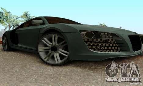 Audi R8 LeMans para visión interna GTA San Andreas