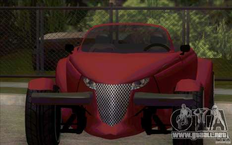 Plymouth Prowler para GTA San Andreas left