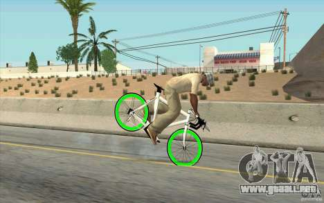 Fixie Bike para la visión correcta GTA San Andreas