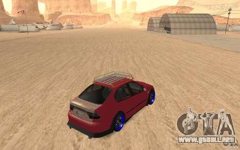 Seat Toledo 1999 Tuned para la visión correcta GTA San Andreas