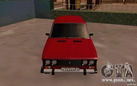 Drenaje 2106 VAZ para visión interna GTA San Andreas
