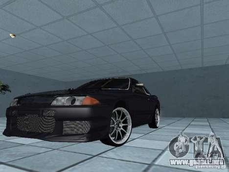 Nissan Skyline R32 Tuned para la vista superior GTA San Andreas