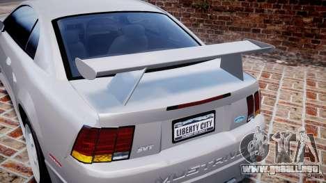 Ford Mustang SVT Cobra v1.0 para GTA 4 interior