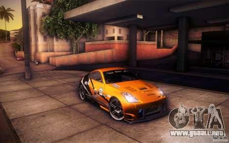 Nissan 350Z Fairlady para el motor de GTA San Andreas