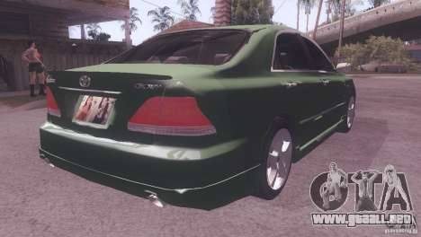 Toyota Crown para GTA San Andreas left