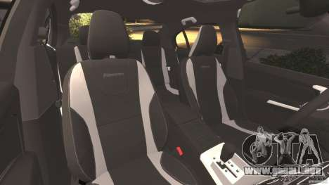 Volvo S60 R-Designs v2.0 para GTA 4 vista interior