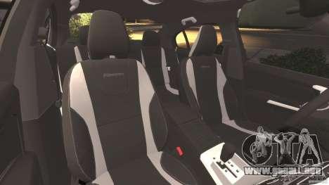 Volvo S60 R-Designs v2.0 para GTA 4 vista interior