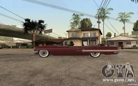 Chevrolet Impala 1960 para GTA San Andreas left