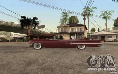 Chevrolet Impala 1960 para GTA San Andreas left