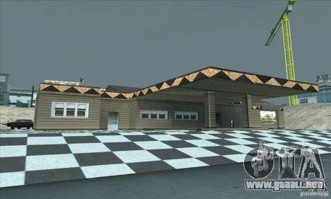 El garaje actualizado CJ en SF para GTA San Andreas segunda pantalla