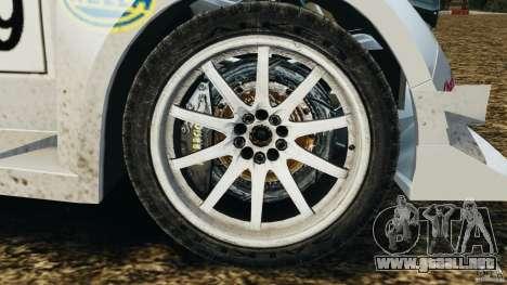 Colin McRae KING Rallycross para GTA 4 vista hacia atrás