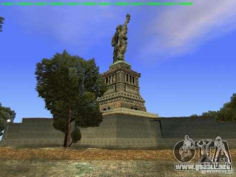 Estatua de la libertad de 2013 para GTA San Andreas sexta pantalla