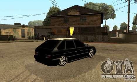 Lada ВАЗ 2114 LT para la visión correcta GTA San Andreas