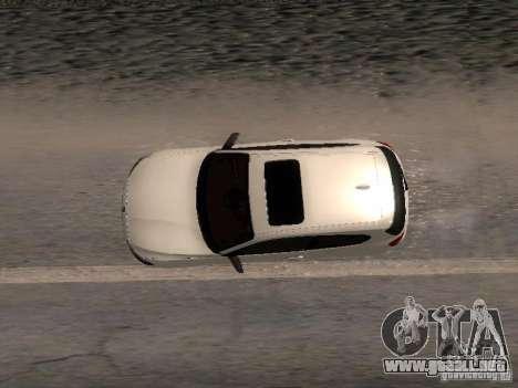 BMW M135i para visión interna GTA San Andreas