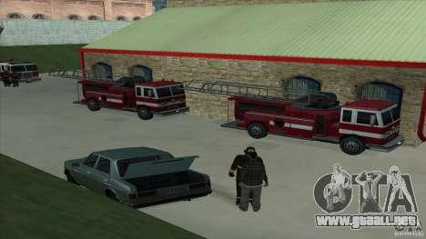 El fuego animado en el SF v3.0 Final para GTA San Andreas tercera pantalla