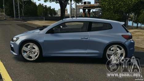 Volkswagen Scirocco R v1.0 para GTA 4 left