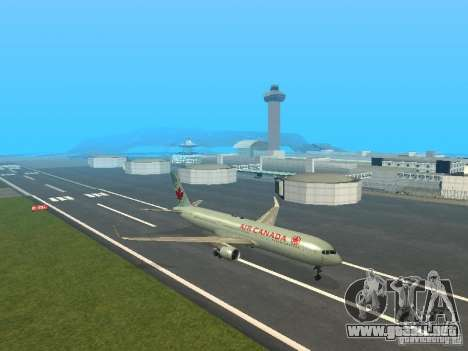 Boeing 767-300 Air Canada para GTA San Andreas left