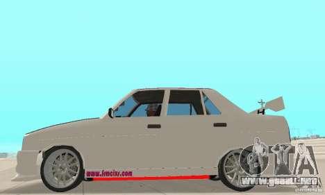 Renault Broadway para GTA San Andreas vista posterior izquierda