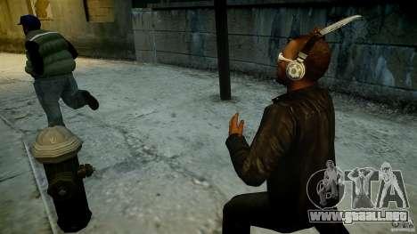 B.A.K. Knife para GTA 4 segundos de pantalla