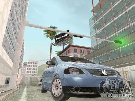 Volkswagen Fox 2011 para GTA San Andreas vista posterior izquierda