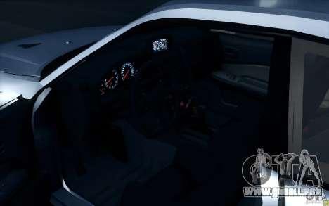 Nissan Skyline GTR R34 VSpecII para la visión correcta GTA San Andreas