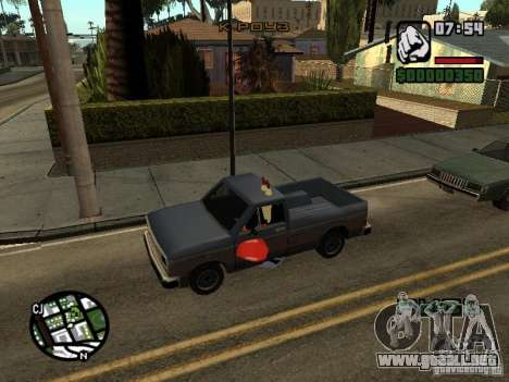 Don Cangrejo para GTA San Andreas novena de pantalla