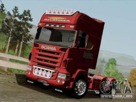Scania R620 Brahma para visión interna GTA San Andreas